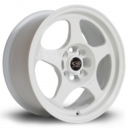 "Rota Slipstream 15x7"" 4x100 ET40, Blanc"