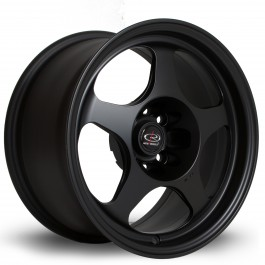 "Rota Slipstream 15x8"" 4x100 ET20, Noir Mat / Satiné"