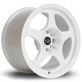 "Rota Slipstream 15x8"" 4x100 ET20, Blanc"