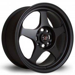 "Rota Slipstream 16x7"" 4x114.3 ET40, Noir Mat / Satiné"