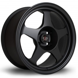 "Rota Slipstream 16x8"" 4x100 ET34, Noir Mat / Satiné"