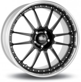 "OZ Superleggera III 18x10"" 5x120.65 ET41, Noir Mat / Satiné"