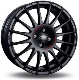 """OZ Superturismo GT 18x8"""" 5x112 ET50, Noir Mat / Satiné"""