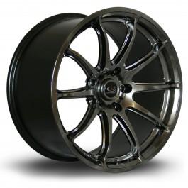 "Rota T2R 18x9.5"" 5x114.3 ET25, Hyper Black"