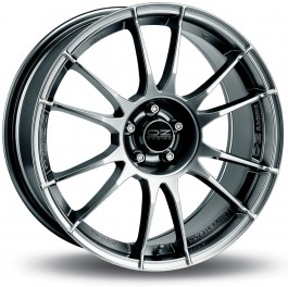 "OZ Ultraleggera 17x7.5"" 5x108 ET40, Chrome / Titane"