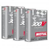 Pack Promo Huile Motul 300V Trophy 0W40 (3 x 2L)