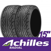 Pneus Semi-Slicks Achilles 123S : 195/50/15 (la paire)