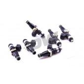 Injecteurs Deatschwerks 1200cc pour Toyota Supra MK4 (2JZ-GTE, lot de 6, top feed 14 mm, haute imp.)