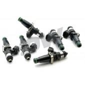 Injecteurs Deatschwerks 2200cc pour Toyota Supra MK4 (2JZ-GTE, lot de 6, top feed 11 mm, haute imp.)