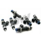 Injecteurs Deatschwerks 1000cc pour Toyota Supra MK4 (2JZ-GTE, lot de 6, top feed 14 mm, haute imp.)