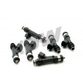 Injecteurs Deatschwerks 440cc pour Nissan Skyline R32 GTS-t (RB20DET, lot de 6)