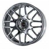 "Drag Wheels DR-37 18x8,5"" 5x120 ET15, Chrome / Titane"