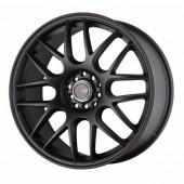 """Drag Wheels DR-34 18x8,5"""" 5x100/114.3 ET45, Noir Mat / Satiné"""