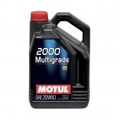 5L Huile Motul 2000 Multigrade 20W50