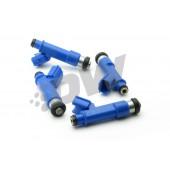 Injecteurs Deatschwerks 440cc pour Toyota Celica T23 (1ZZ-FE / 2ZZ-GE, lot de 4)