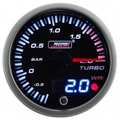 "Manomètre de Pression de Turbo ""Dual Display"" ProSport JDM (60 mm)"