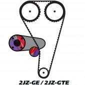 Kit de Distribution pour Moteur Toyota 2JZ-G(T)E