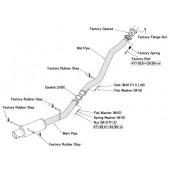 """Ligne d'Echappement HKS """"Hi-Power"""" pour Subaru Impreza GDB (00-07)"""