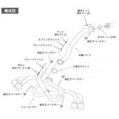 """Ligne d'Echappement HKS """"Legamax"""" Ti-Tip (MIG) pour Nissan GT-R"""