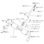 """Ligne d'Echappement HKS """"Legamax"""" pour Mazda RX-8"""