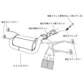 """Silencieux d'Echappement HKS """"Legamax"""" pour Mazda MX-5 ND"""