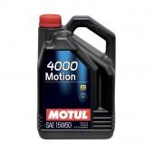5L Huile Motul 4000 Motion 15W50