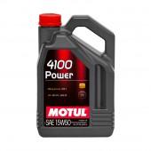 5L Huile Motul 4100 Power 15W50 (Mercedes, Volkswagen)