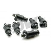 Injecteurs Deatschwerks 1200cc pour Nissan Skyline R32, R33, R34 GT-R (RB26DETT, lot de 6, basse impédance)