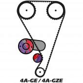 Kit de Distribution pour Moteur Toyota 4A-G(Z)E