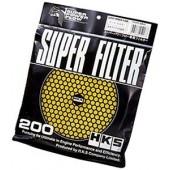 Mousse de Remplacement pour Filtre à Air HKS (200 mm, Jaune)