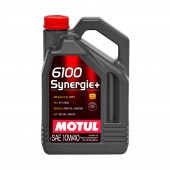 5L Huile Motul 6100 Synergie+ 10W40 (Mercedes, Renault, VW, PSA)