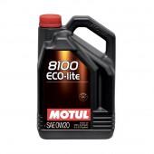 5L Huile Motul 8100 Eco-Lite 0W20 (Toyota, Mazda, Honda, Subaru...)