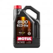 5L Huile Motul 8100 Eco-Lite Dexos1 5W30 (GM, Honda, Subaru, Toyota...)