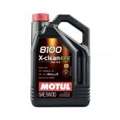 5L Huile Motul 8100 X-Clean EFE 5W30 (Mercedes, BMW, Opel, Fiat)