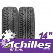 Pneus Achilles Hiver / Neige 155/65 R14 75T (la paire)
