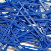 Pack de 100 Colliers Rilsan Bleu Roi