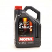 5L Huile Motul 5W30 8100 X-Clean+