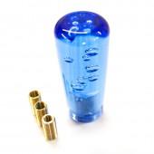 """Pommeau """"Dildo Bubble"""" Bleu - 10 cm"""