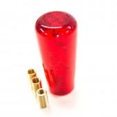 """Pommeau """"Dildo Bubble"""" Rouge - 10 cm"""