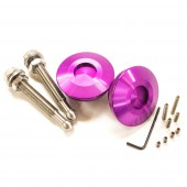 "Boutons Type ""Quick Latch"" - Attache-Rapides Carrosserie, Violets"
