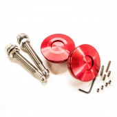 "Boutons Type ""Quick Latch"" - Attache-Rapides Carrosserie, Rouges"