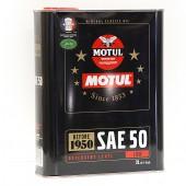 Huile Motul Historique - SAE50