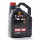 5L Huile Motul 5W30 8100 Eco Clean +