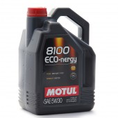 5L Huile Motul 5W30 8100 ECO-nergy (Ford, Renault)