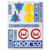 Autocollants Sparco Coupe Circuit & Extincteur (FIA)