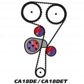 Kit de Distribution pour Moteur Nissan CA18DE(T)