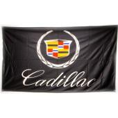 Drapeau Cadillac Noir (150 x 90 cm)