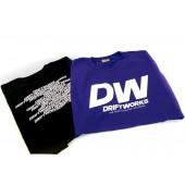 """T-Shirt DriftWorks """"Classic"""" Violet ou Noir"""