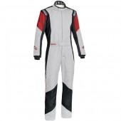 Combinaison Sparco Grip RS-4 - Blanche (FIA)