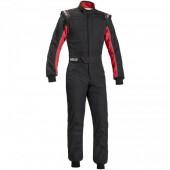 Combinaison Sparco Sprint RS-2.1 - Noire & Rouge (FIA)